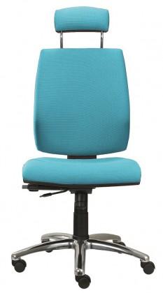 kancelářská židle York šéf E-synchro(suedine 65)