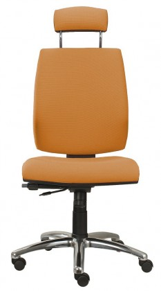 kancelářská židle York šéf T-synchro(suedine 11)