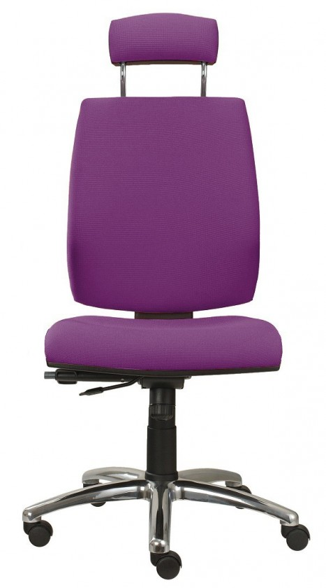 kancelářská židle York šéf T-synchro(suedine 22)
