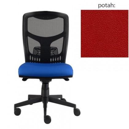 kancelářská židle York síť E-synchro (koženka 14, sk.3)