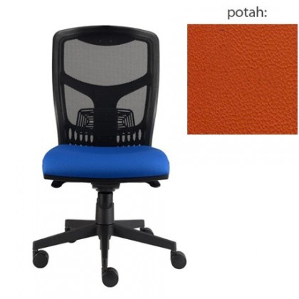 kancelářská židle York síť E-synchro (koženka 74, sk.3)