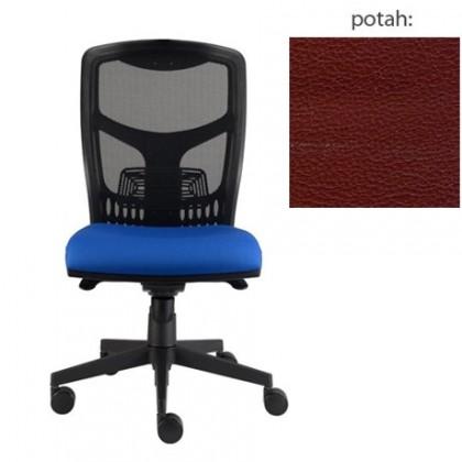 kancelářská židle York síť E-synchro (koženka 85, sk.3)