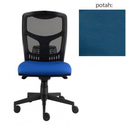 kancelářská židle York síť E-synchro (kůže 166, sk.5)