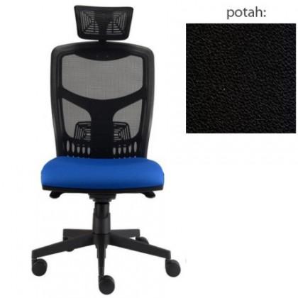 kancelářská židle York síť T-synchro (koženka 12, sk.3)