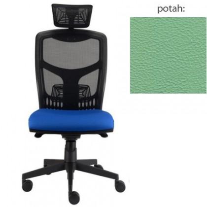 kancelářská židle York síť T-synchro (koženka 89, sk.3)