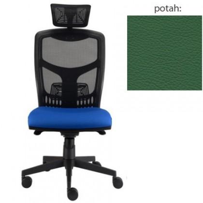 kancelářská židle York síť T-synchro (kůže 161, sk.5)