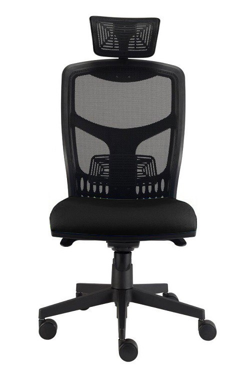 kancelářská židle York síť T-synchro (suedine 1, sk.1)