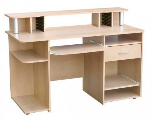 Kancelářský stůl Beta - Psací stůl (Buk)