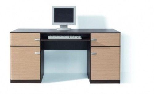 Kancelářský stůl Clipper BIU/160-2D2S