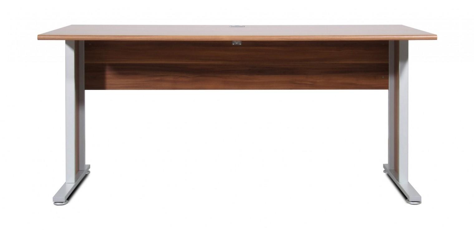 Kancelářský stůl GW-Power-Kancelářský stůl,šířka 160cm (ořech)