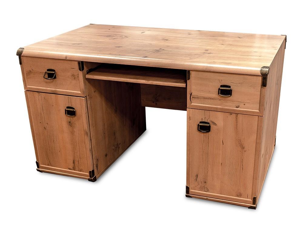 Kancelářský stůl INDIANA JBIU2D2S (Sosna antická)