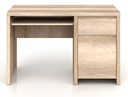 Kancelářský stůl Kaspian BIU1D1S/120 (Dub monumet)