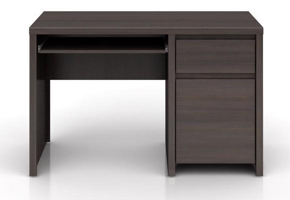 Kancelářský stůl Kaspian BIU1D1S/120 (Wenge)