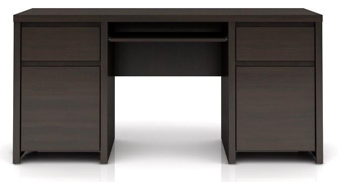 Kancelářský stůl Kaspian BIU2D2S/160 (Wenge)