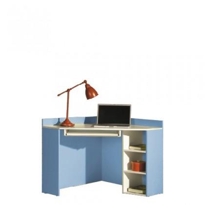 Kancelářský stůl LABYRINT LA 17 (krémová/modrá)