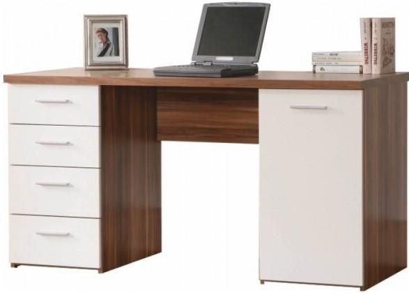 Kancelářský stůl Net106 MT926 ( Ořech/Bílá)