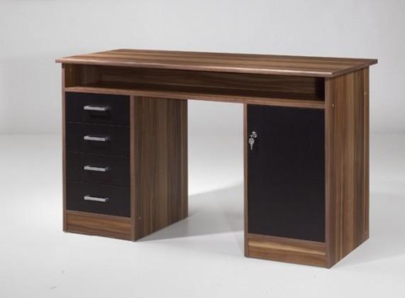 Kancelářský stůl Net106 MT931 (Ořech/Černá)