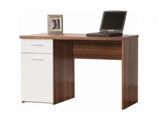 Kancelářský stůl Net106 MT936 ( Ořech/Bílá)