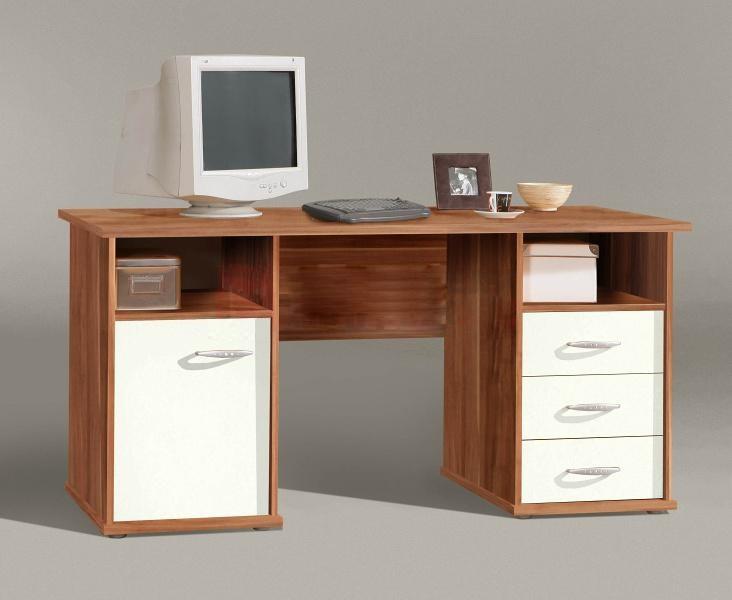 Kancelářský stůl Net106 MT950 ( Ořech/Bílá)