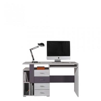 Kancelářský stůl NEXT NX 13 (borovice/šedá)
