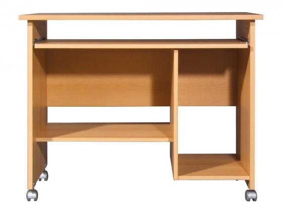 Kancelářský stůl Office - PC stůl (buk )