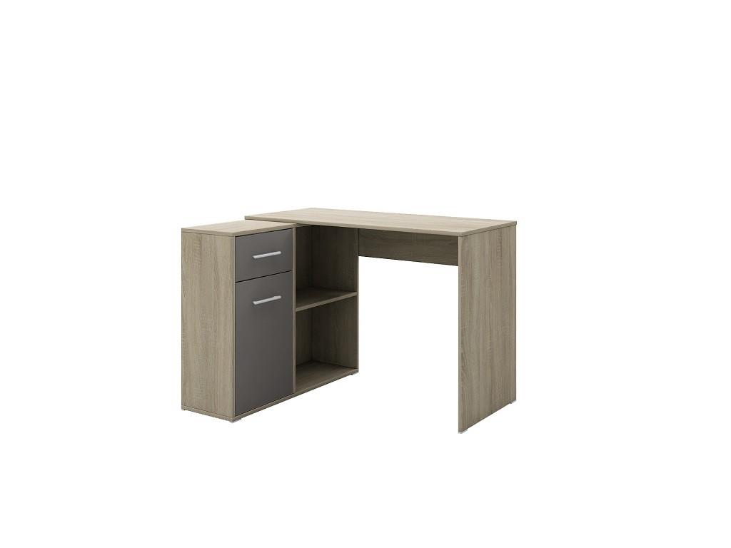 Kancelářský stůl Psací stůl Bent (dub šedý)