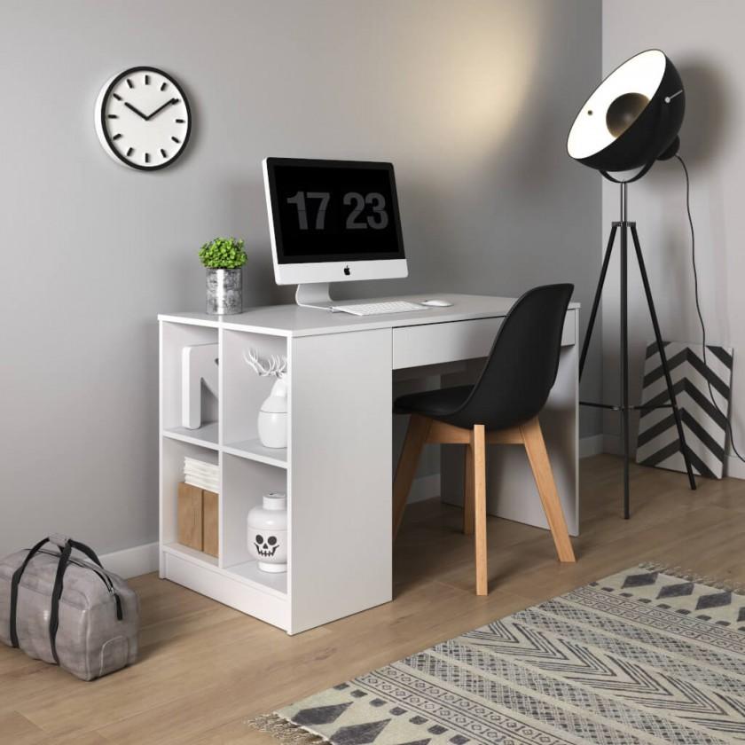Kancelářský stůl Psací stůl Boxo (bílá)