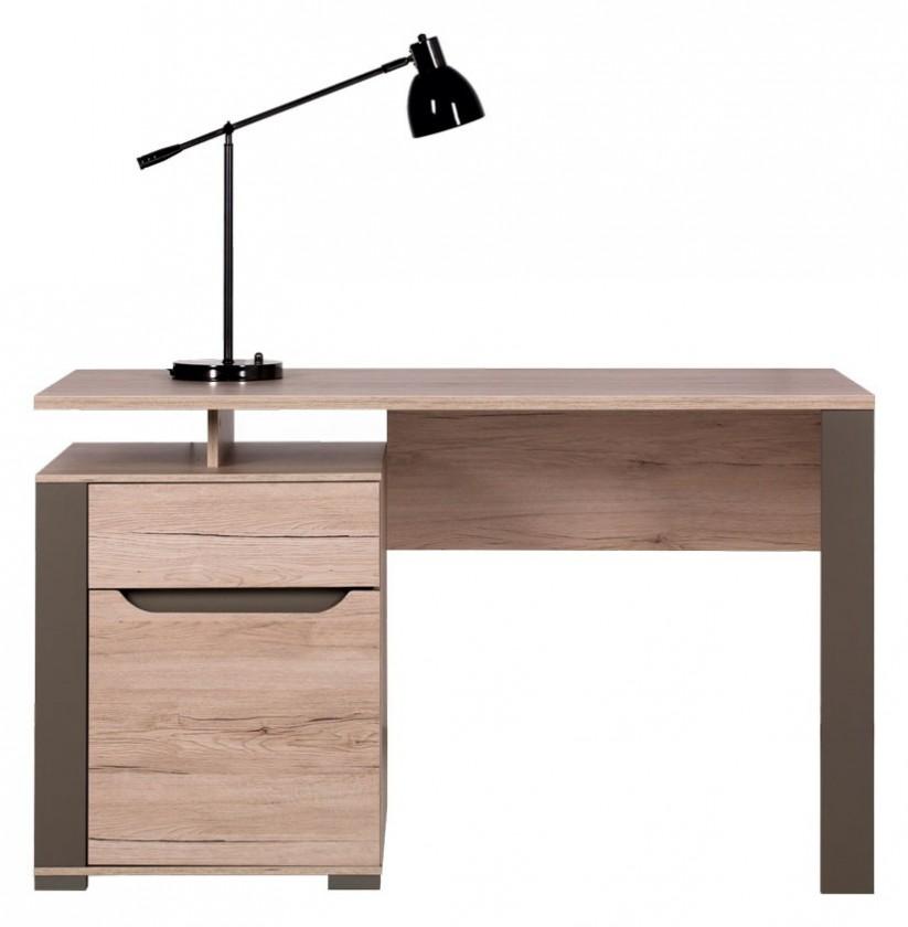 Kancelářský stůl Psací stůl (dub sanremo latte)