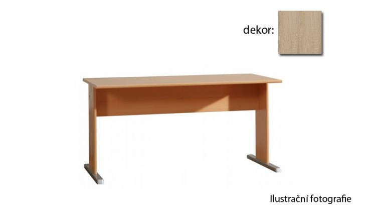 Kancelářský stůl Tempra KT22 (dub sonoma)