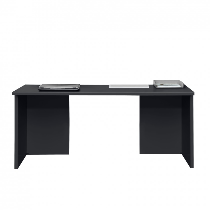 Kancelářský stůl Work - Stůl, 160x74x70 (černá)
