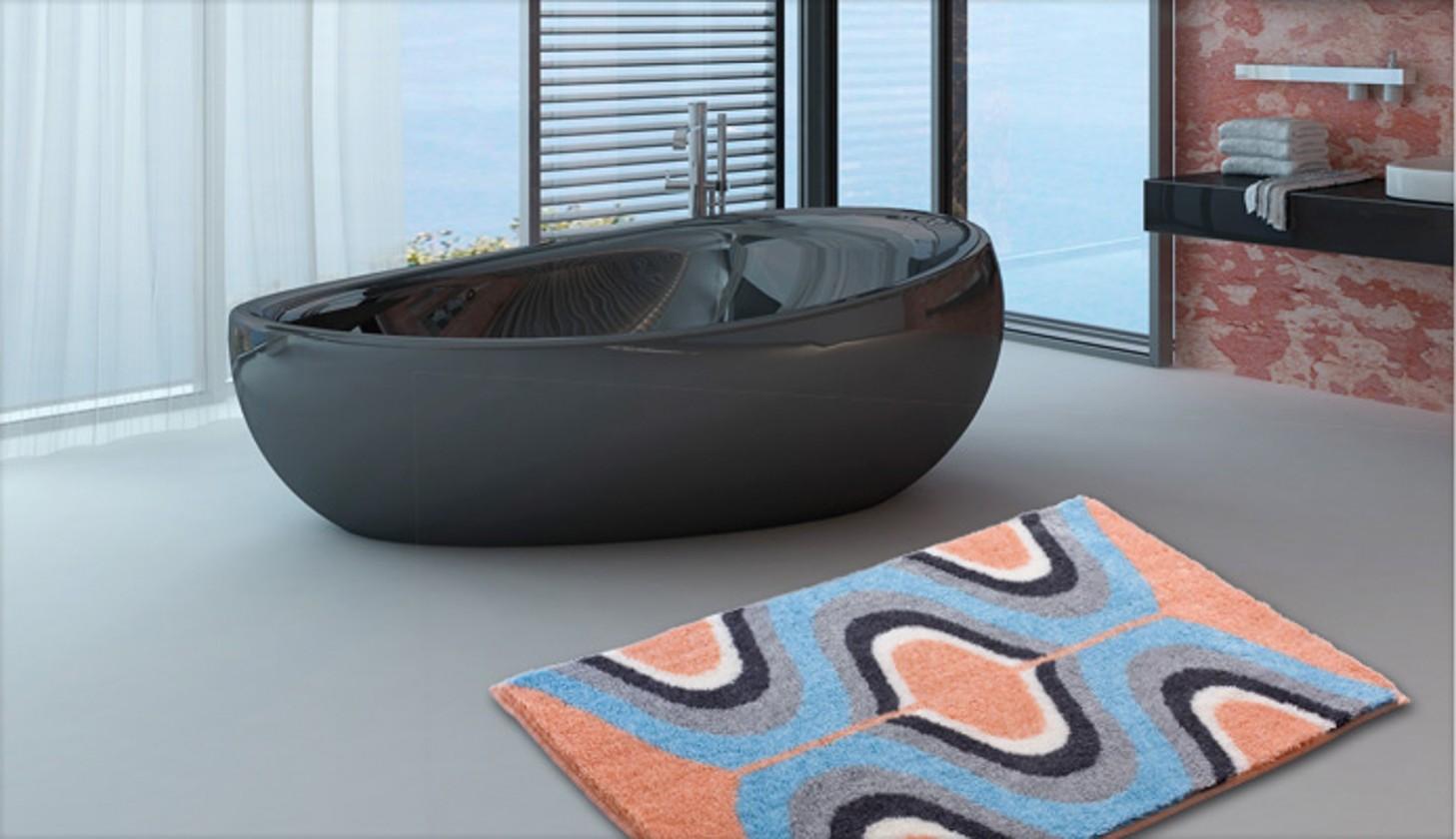 Karim 18 - Koupelnová předložka 70x120 cm (meruňková)