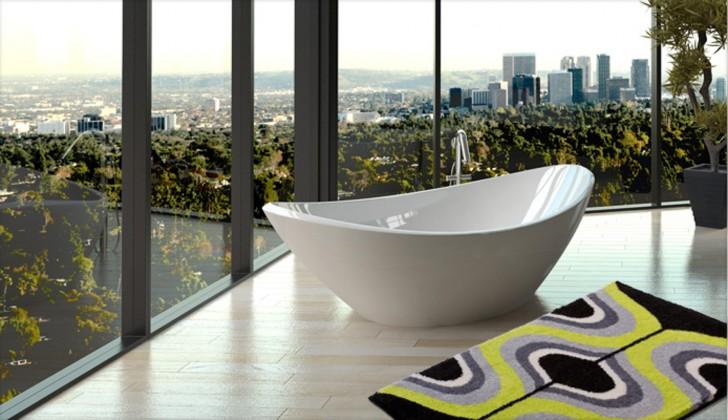 Karim 18 - Koupelnová předložka 70x120 cm (zelená)