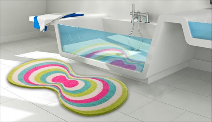 Karim 20 - Koupelnová předložka 80x150 cm (zelená)
