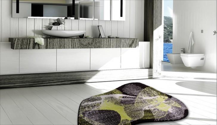 Karim 27 - Koupelnová předložka 80x150 cm (zelená)