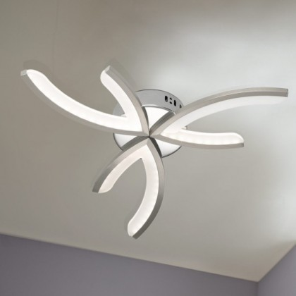 Kelton - Stropní osvětlení, LED (matný nikl)