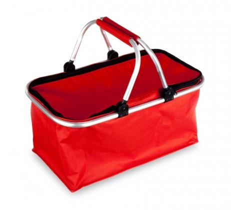 Kempingový košík (červený)