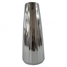 Keramická váza VK70 stříbrná (35 cm)