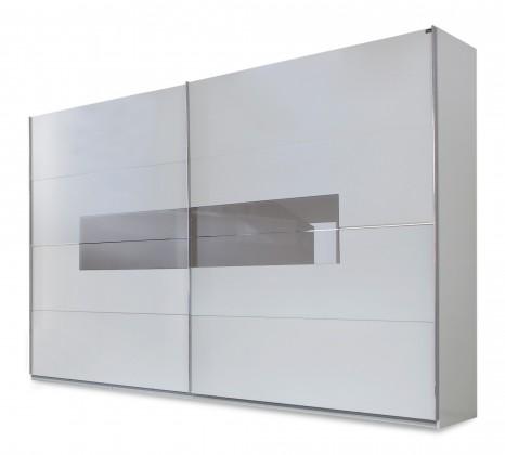 Klasická Advantage - Šatní skříň (alpská bílá/šedá)