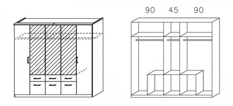 Klasická Apulien - s křídlovými dveřmi, 5x dveře