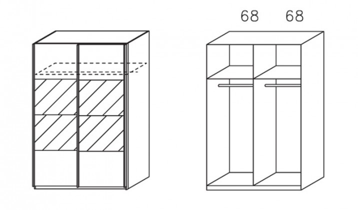 Klasická Apulien - s posuvnými dveřmi, 2 dveře