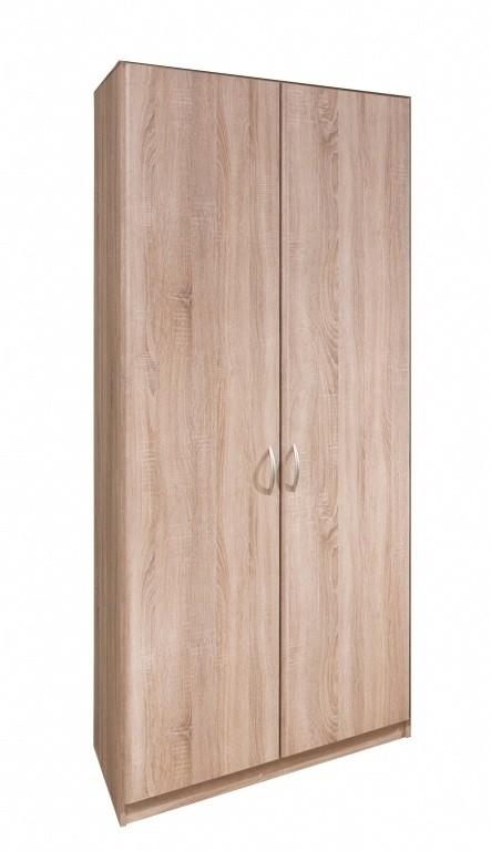 Klasická Cassanova - Šatní skříň, 2x dveře (dub bardolino)