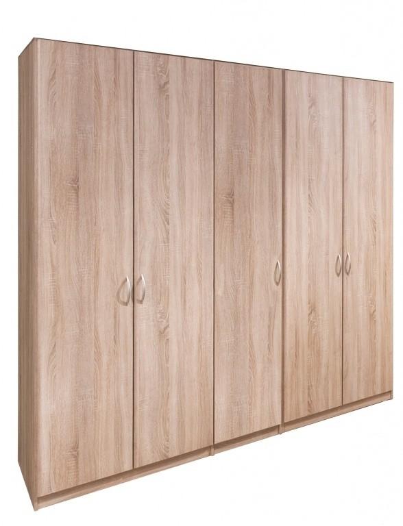 Klasická Cassanova - Šatní skříň (5x dveře)