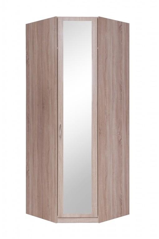 Klasická Cassanova - Šatní skříň rohová (1x dveře se zrcadlem)