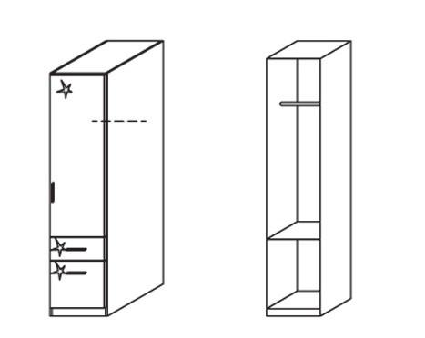 Klasická Celle, 1x dveře, pravá
