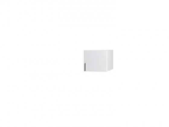 Klasická Nástavec Snow - 1D (bílá/bílá vysoký lesk)
