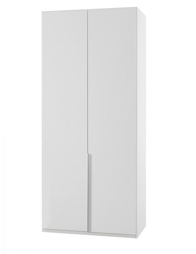 Klasická NewYork2 - Skříň, 90/234/58 (alpská bílá)