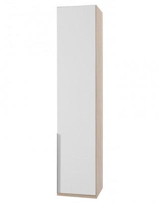 Klasická NewYork22 - Skříň, 45/208/58 (alpská bílá/dub)