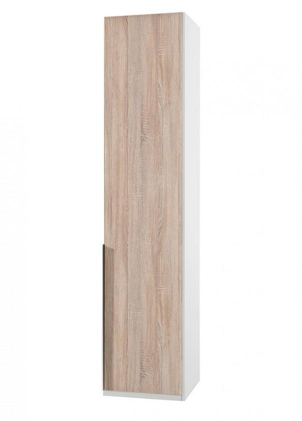 Klasická NewYork22 - Skříň, 45/208/58 (dub/alpská bílá)