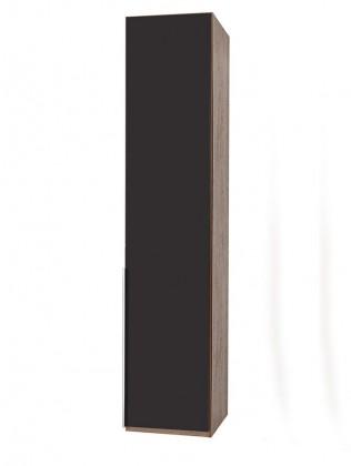 Klasická NewYork22 - Skříň, 45/208/58 (láva/ořech)
