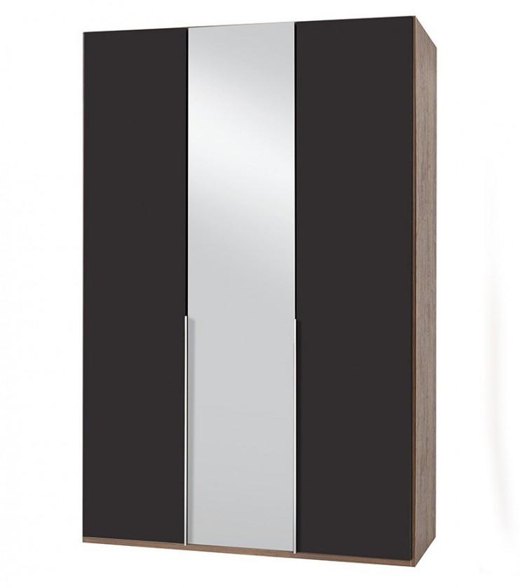 Klasická NewYork29 - Skříň, 135/208/58 (láva/ořech)